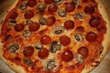 Receta de Pizza pepperoni